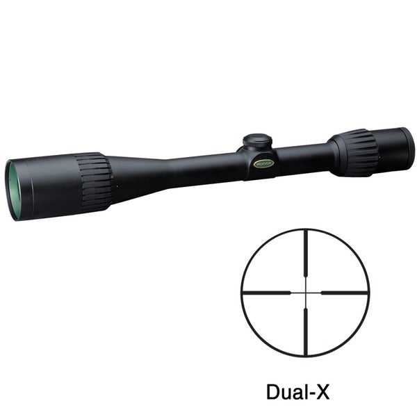 Weaver Grand Slam 4.5-14x40mm Dual-X Reticle Rifle Scope
