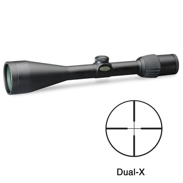Weaver Grand Slam 3.5-10x50mm Dual-X Reticle Rifle Scope