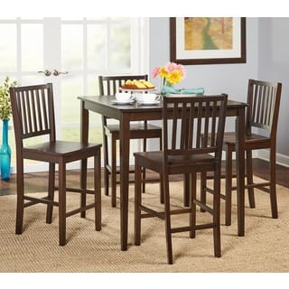 simple dining rooms. Simple Living Shaker Counter Height 5 piece Dining Set Room Sets For Less  Overstock com