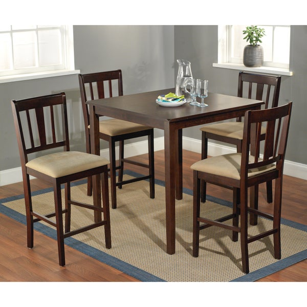 Simple Living Stratton Counter Height 5-piece Dining Set
