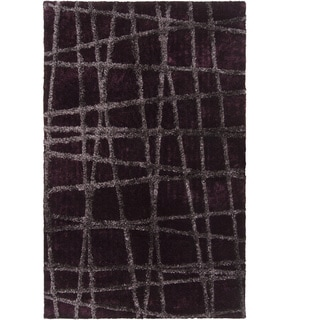 Link to Hand-woven Alamo HIgh/Low Soft Shag Area Rug Similar Items in Rugs