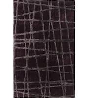 Hand-woven Alamo HIgh/Low Soft Shag Area Rug (2' x 3')