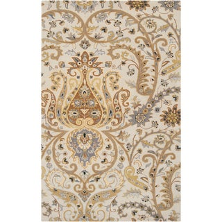 Shop Nourison Heritage Hall He15 Hand Tufted Wool Area Rug