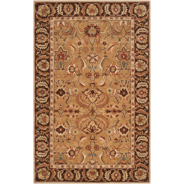 Hand-tufted Benton Semi-worsted New Zealand Wool Rug