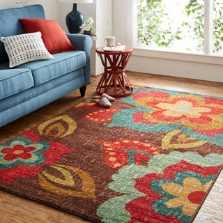 Link to Mohawk Home Strata Ayanna Kaleidoscope Area Rug (7'6 x 10') Similar Items in Patterned Rugs