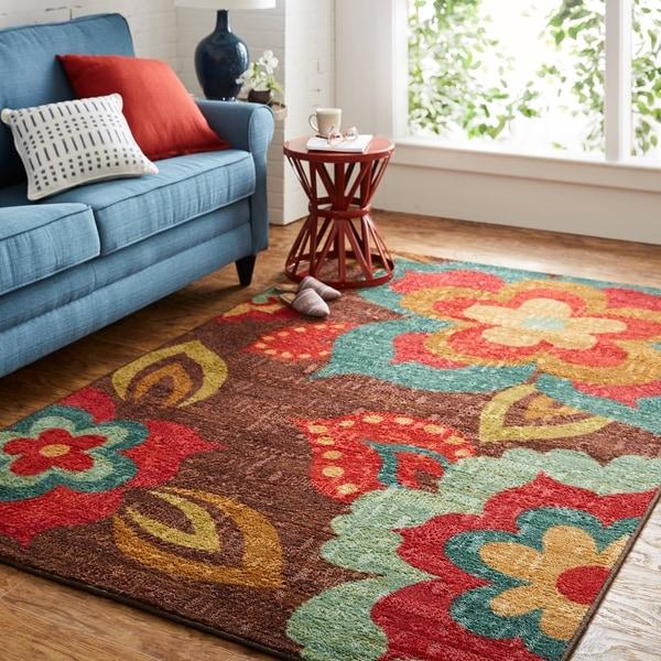 Mohawk Home Strata Ayanna Kaleidoscope Area Rug (7'6 x 10'). Opens flyout.
