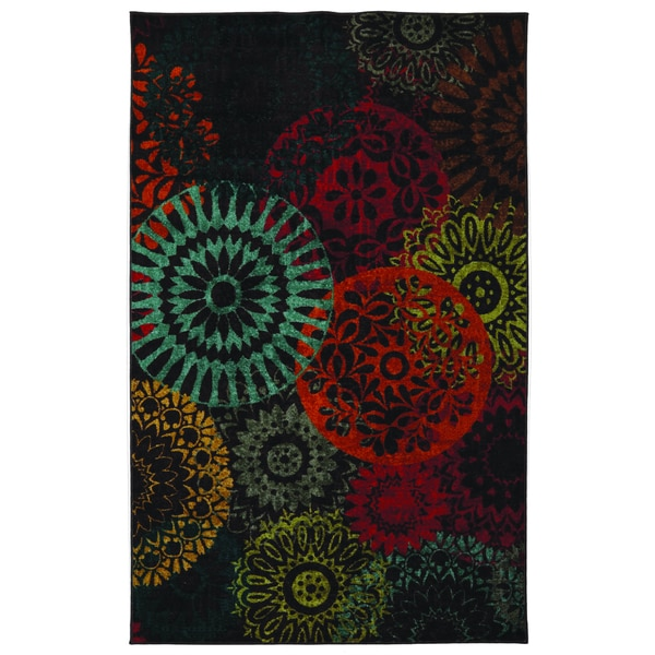 Medaglia Dark Chocolate Area Rug