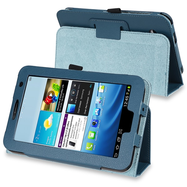 INSTEN Leather Tablet Case Cover for Samsung Galaxy Tab2 P3100/ P3110/ P3113/ 7.0