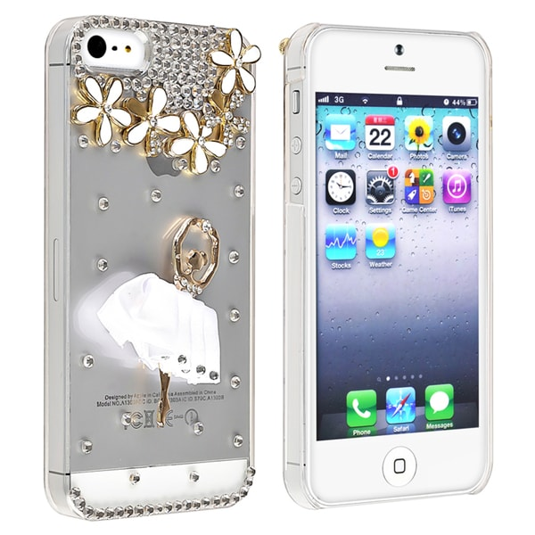 BasAcc Clear/ Ballerina/ Diamond Snap-on Case for Apple iPhone 5