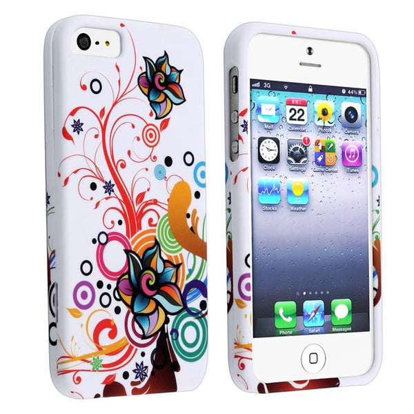 BasAcc Autumn Flower Snap-on Case for Apple iPhone 5