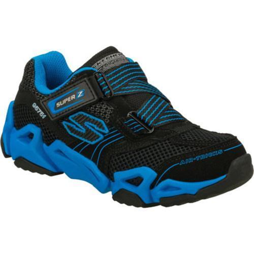Boys' Skechers Air Tricks Fierce Flex Gravitron Black/Blue