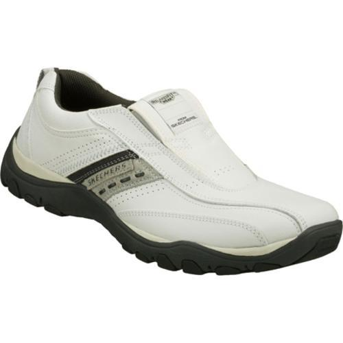 Men's Skechers Relaxed Fit Artifact Excavate White/Gray