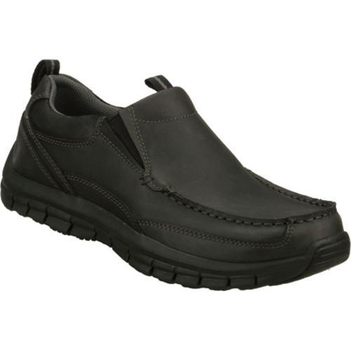 Men's Skechers Relaxed Fit Masen Leone Black