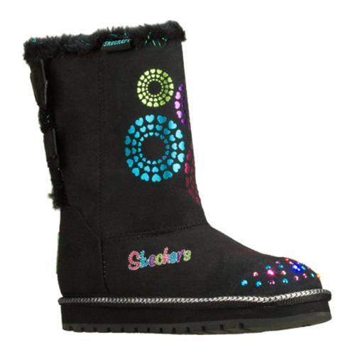 Girls' Skechers Twinkle Toes Keepsakes Baby Bow Black/Multi