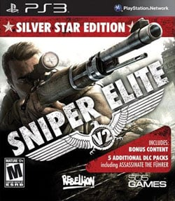 PS3 - Sniper Elite V2: Silver Star Edition