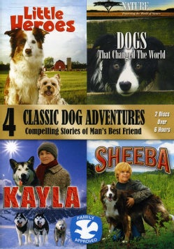 4 Classic Dog Adventures (DVD)