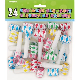 Diamond Squawker Blowouts 24/Pkg-