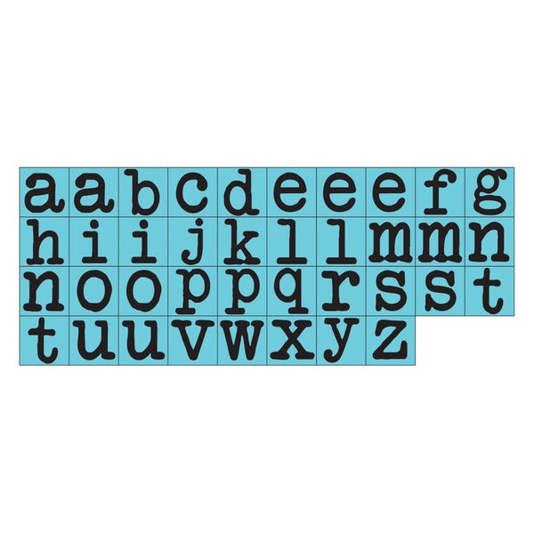 Prima Press Alphabet Stamp Set 25 Characters 2
