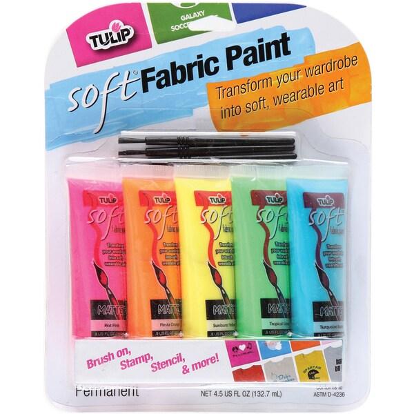 Screenit Soft Paint Packs 5/Pkg-Neon
