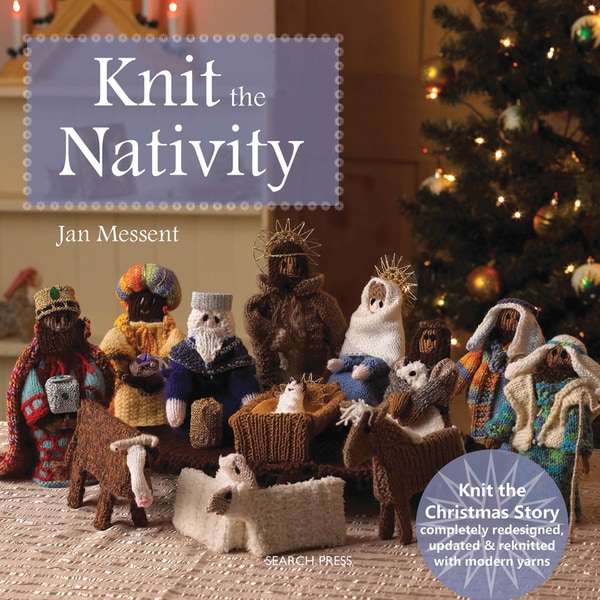 Search Press Books-Knit The Nativity