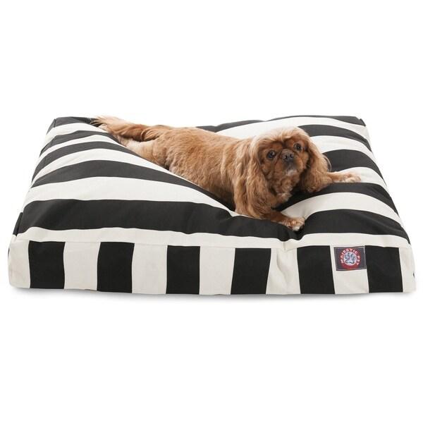 Shop Majestic Pet Black Vertical Stripe Rectangle Dog Bed