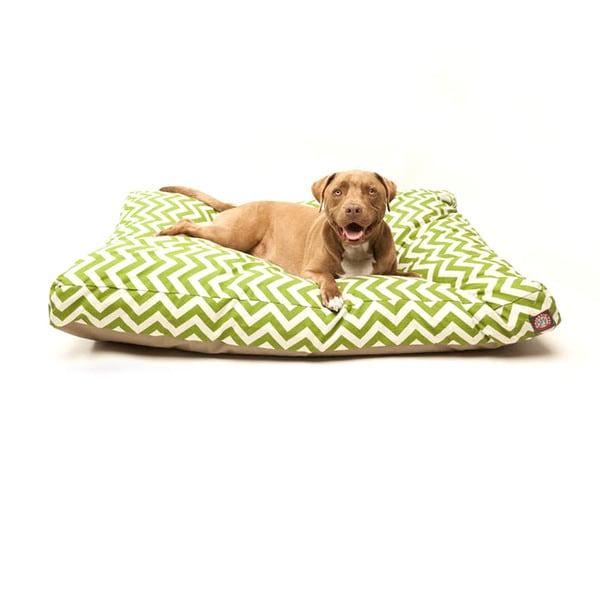 Majestic Pet Sage Chevron Rectangle Pet Bed