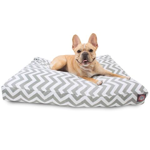 Majestic Pet UV-Treated Chevron Rectangle Dog Bed