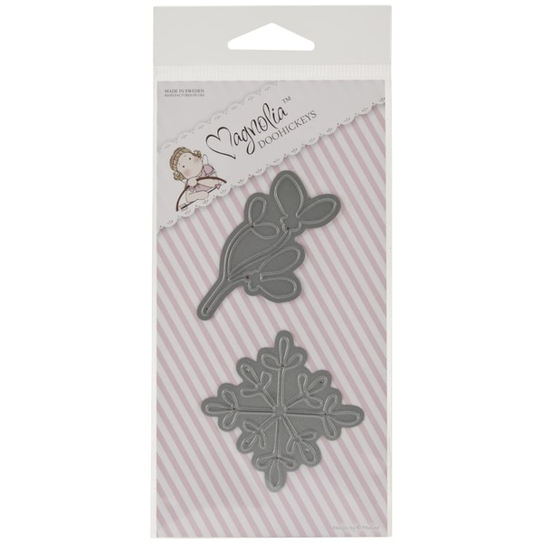 Magnolia Christmas DooHickeys Dies-Snowflake & Mistletoe