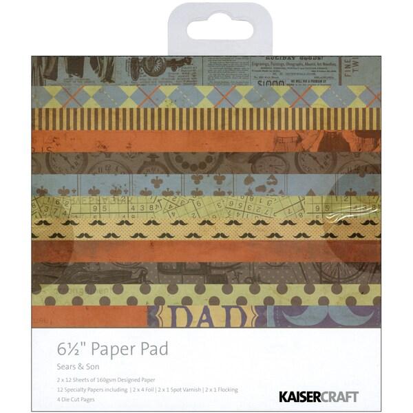 "Sears & Son Paper Pad 6.5""X6.5""-"