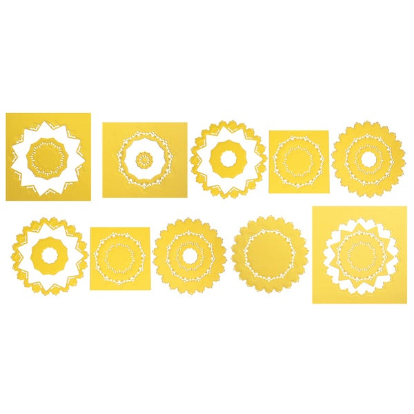 Spellbinders Nestabilities Majestic Elements Dies-Exquisite Circles