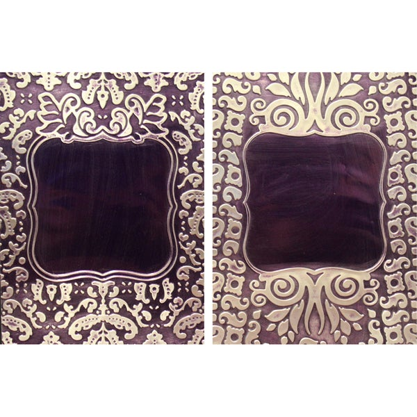 Spellbinders M-Bossabilities A4 Card Embossing Folder-Framed Labels 1