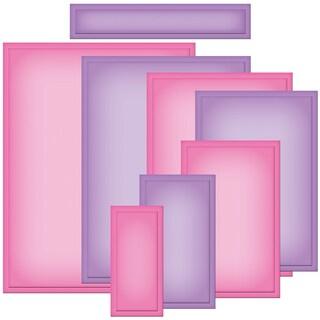 Spellbinders Nestabilities A2 Card Creator Dies-Matting Basics A