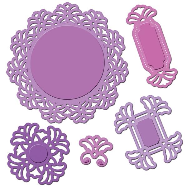 Spellbinders Shapeabilities Dies-Vintage Lace Motifs