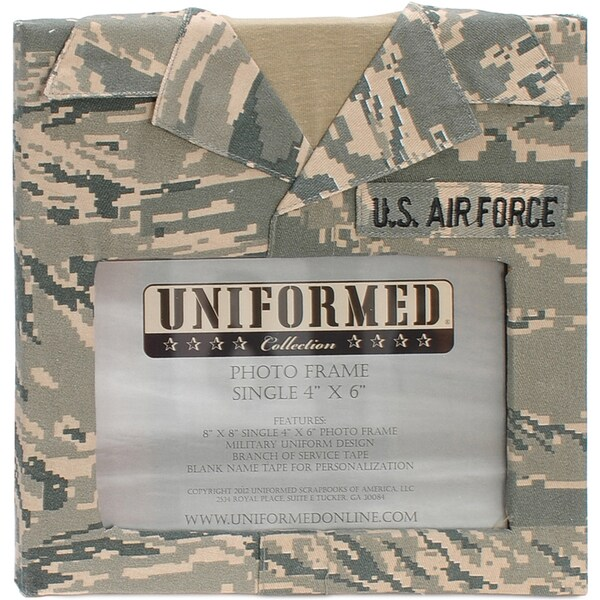 "U.S. Air Force Single 4""X6"" Frame 8""X8""-"