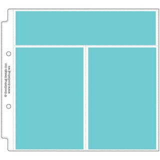 "Doodlebug Photo/Recipe Card Protectors 8""X8""-Vertical"