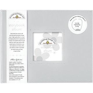 "Storybook Album 8""X8""-Gray"