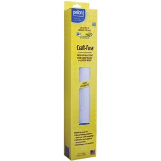 Pellon 808 Craft-Fuse Iron-On Fusible Stabilizer (15-inch x 4yd)