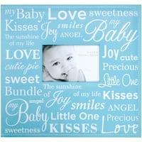 """Baby Expression Post Bound Album 12""""X12""""-Blue"""