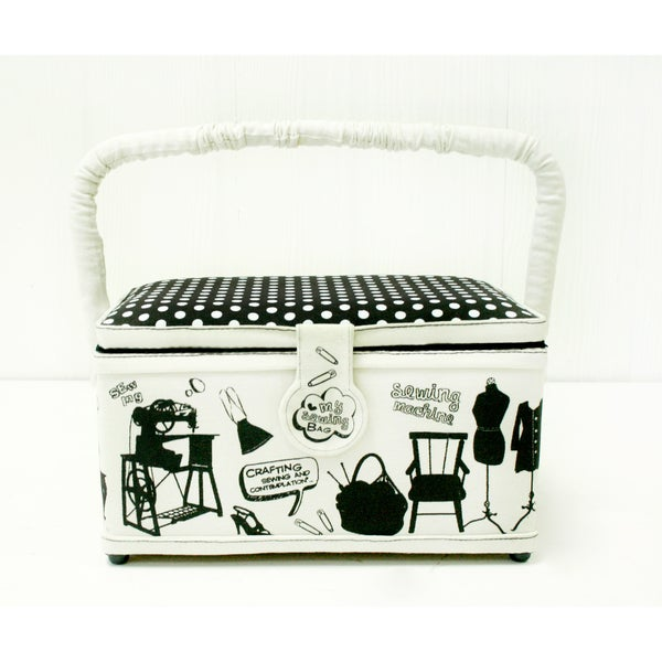 Suzy Black/ White Hobby Box