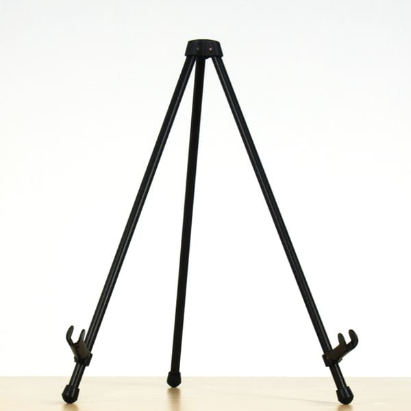 Offex Black E-Z Tabletop Easel