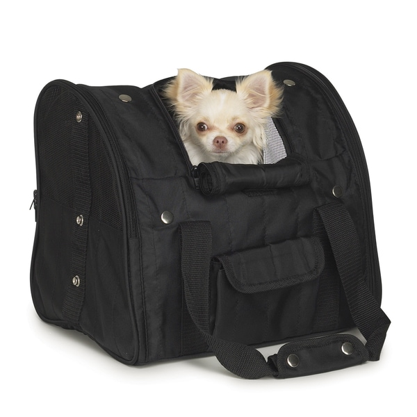 Casual Canine Black Backpack Carrier