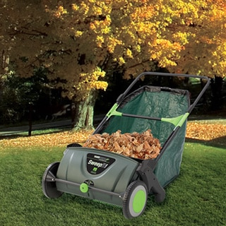 Sweep It 21 Inch Lawn Sweeper Free Shipping Today