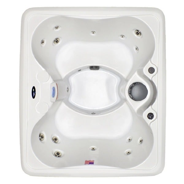 Home and Garden Spas 4-Person 14-Jet Plug-in-Play Spa