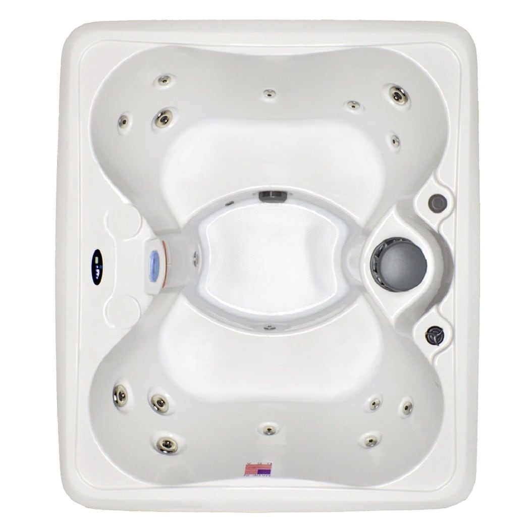 Hudson Bay Spas 4-person 14-jet Spa with Stainless jets a...