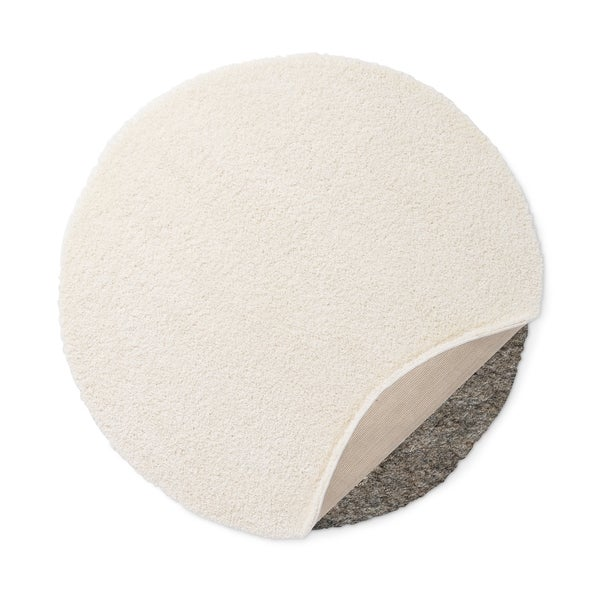 white circle fluffy rug. safavieh california cozy plush milky white shag rug - free shipping today overstock.com 14955430 circle fluffy