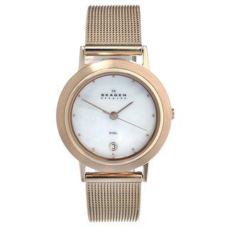 Skagen Women's Rose Goldtone Stainless Steel Watch
