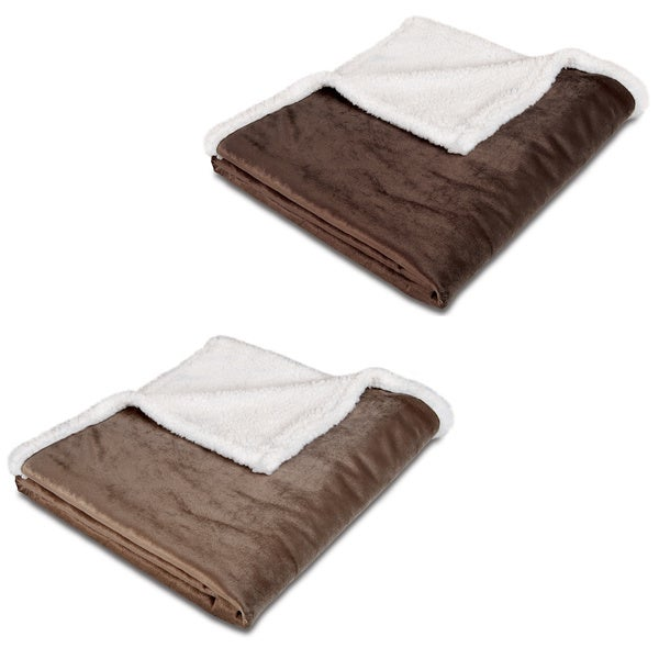 Animal planet sherpa pet blanket 14955494 overstock for Animal planet dog blanket