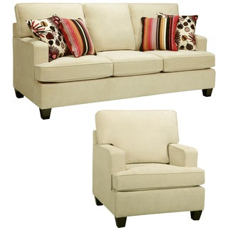 Austin Cream Sofa and Chair