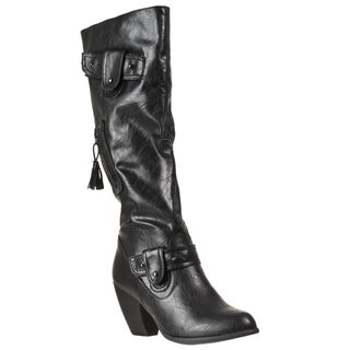 Riverberry Women's 'Bongo' Black Boots