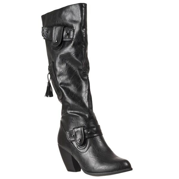 Riverberry Women's 'Bongo' Black Boots
